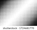dots background. grunge pattern.... | Shutterstock .eps vector #1724681770