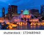 Buckingham Fountain At Night...