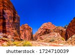 Red Rock Canyon Pass Landscape...