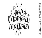 Every Moment Matters...