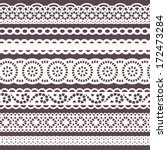 set of laces   Shutterstock .eps vector #172473284