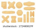 set of isolated vector elastic...   Shutterstock .eps vector #1724808199