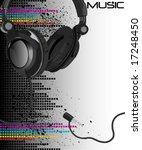 vector music   Shutterstock .eps vector #17248450
