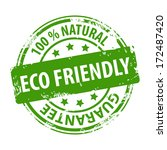 eco friendly 100 percent... | Shutterstock .eps vector #172487420