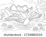 Vector   Swan Princess With...