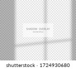 shadow overlay effect. natural... | Shutterstock .eps vector #1724930680