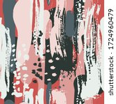abstract seamless artistic... | Shutterstock .eps vector #1724960479