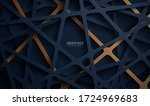 luxury dark background with a... | Shutterstock .eps vector #1724969683