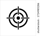 target icon  vector isolated on ...
