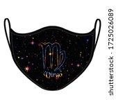 horoscope virgo elements design ... | Shutterstock .eps vector #1725026089