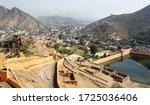 View Of Amer City  Jaipur ...