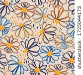 seamless pattern with colorful...   Shutterstock .eps vector #1725044173