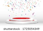 winner background with signs of ... | Shutterstock .eps vector #1725054349