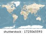 world map vintage dark... | Shutterstock .eps vector #1725065593