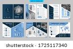 brochure creative design with... | Shutterstock .eps vector #1725117340