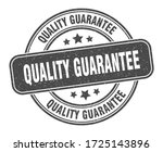 quality guarantee stamp.... | Shutterstock .eps vector #1725143896