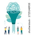 vector illustration  abstract... | Shutterstock .eps vector #1725148933