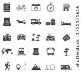 tour and travel icon set  ... | Shutterstock .eps vector #1725171616