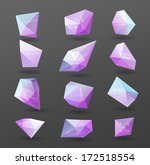 abstract modern label  bubble   ... | Shutterstock .eps vector #172518554