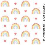 vector seamless pattern of... | Shutterstock .eps vector #1725186850