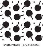 vector seamless pattern of flat ... | Shutterstock .eps vector #1725186853