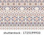gypsy pattern tribal ethnic... | Shutterstock .eps vector #1725199933