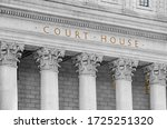 Inscription On The Courthouse...