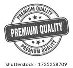 premium quality stamp. premium... | Shutterstock .eps vector #1725258709