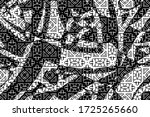 abstract black and white... | Shutterstock .eps vector #1725265660