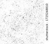 vector splatter grunge black... | Shutterstock .eps vector #1725268810