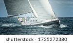Yachtsman On A Sailing Yacht