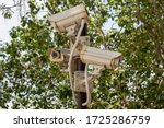 Multi Angle Cctv System In The...