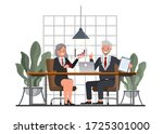 business people working and... | Shutterstock .eps vector #1725301000