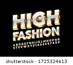 vector high fashion white and... | Shutterstock .eps vector #1725324613