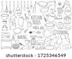 Hand Drawn Illustration Kitchen ...