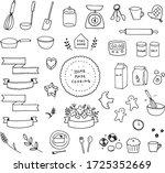 illustration of making sweets...   Shutterstock .eps vector #1725352669