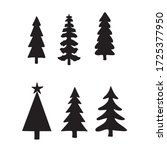 isolated pine on the white...   Shutterstock .eps vector #1725377950