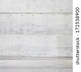 bright concrete space | Shutterstock . vector #172538900