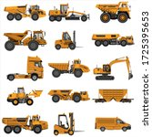 A Set Of Construction Equipmen...