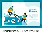 landing page vector design of...