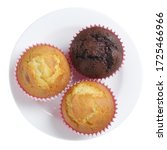 Chocolate And Vanilla Muffins...