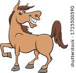 cartoon illustration of happy... | Shutterstock .eps vector #1725500590