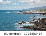 atlantic ocean and coastline...   Shutterstock . vector #1725503419