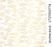 Metallic Gold Foil Fishes...