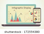 infographics devices ... | Shutterstock .eps vector #172554380