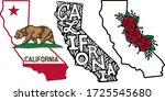 california state sign bear... | Shutterstock .eps vector #1725545680
