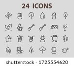 a set of rosteniya icons  and... | Shutterstock .eps vector #1725554620
