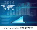vector design   eps10 business... | Shutterstock .eps vector #172567196