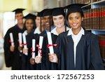 Group Of Happy Graduates...