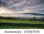 Morning Mist In Wensleydale